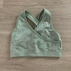 Gymshark camo seamless sports bra
